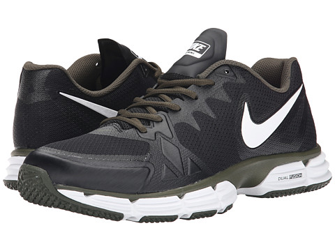 Nike - Dual Fusion TR 6 (Black/Cargo Khaki/White) Men's Cross Training Shoes