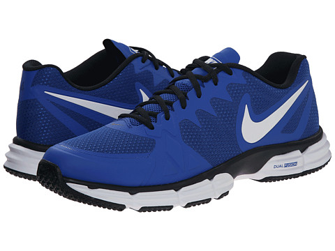 new product d41be 57dba nike dual fusion blue mens
