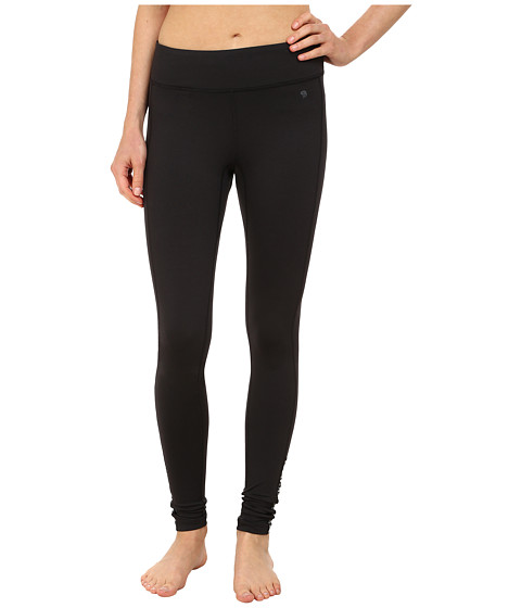 Mountain Hardwear - Mighty Activa Stripe Tight (Black) Women's Casual Pants
