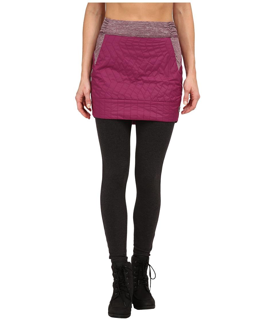 Mountain Hardwear - Trekkin Insulated Mini Skirt (Dark Raspberry) Women's Skirt