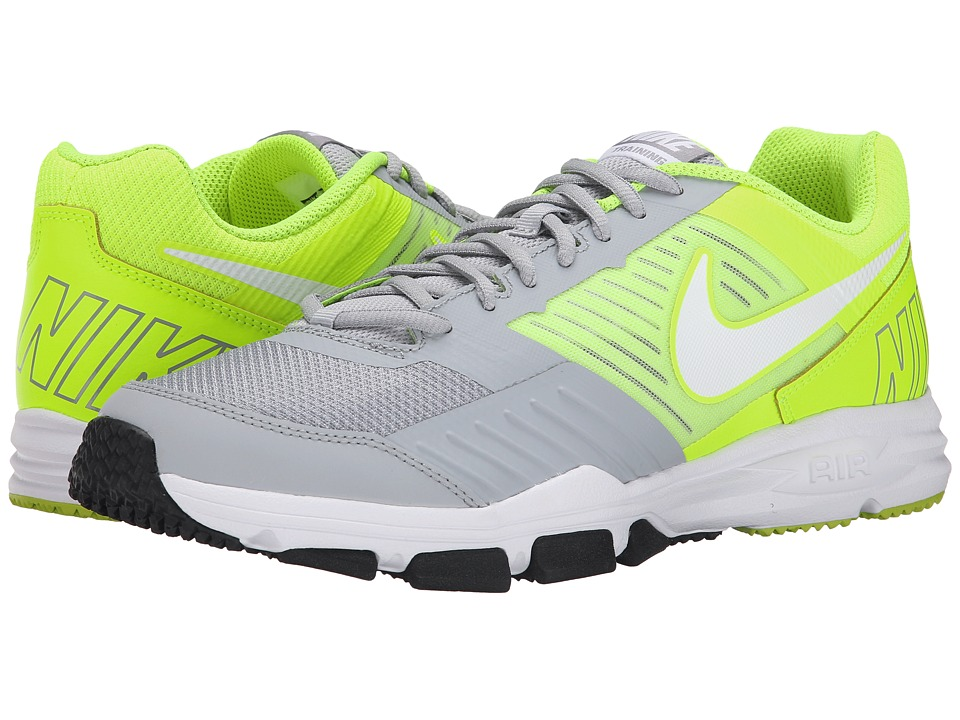 Nike - Air One TR 2 (Wolf Grey/Volt/Black/White) Men's Cross Training Shoes
