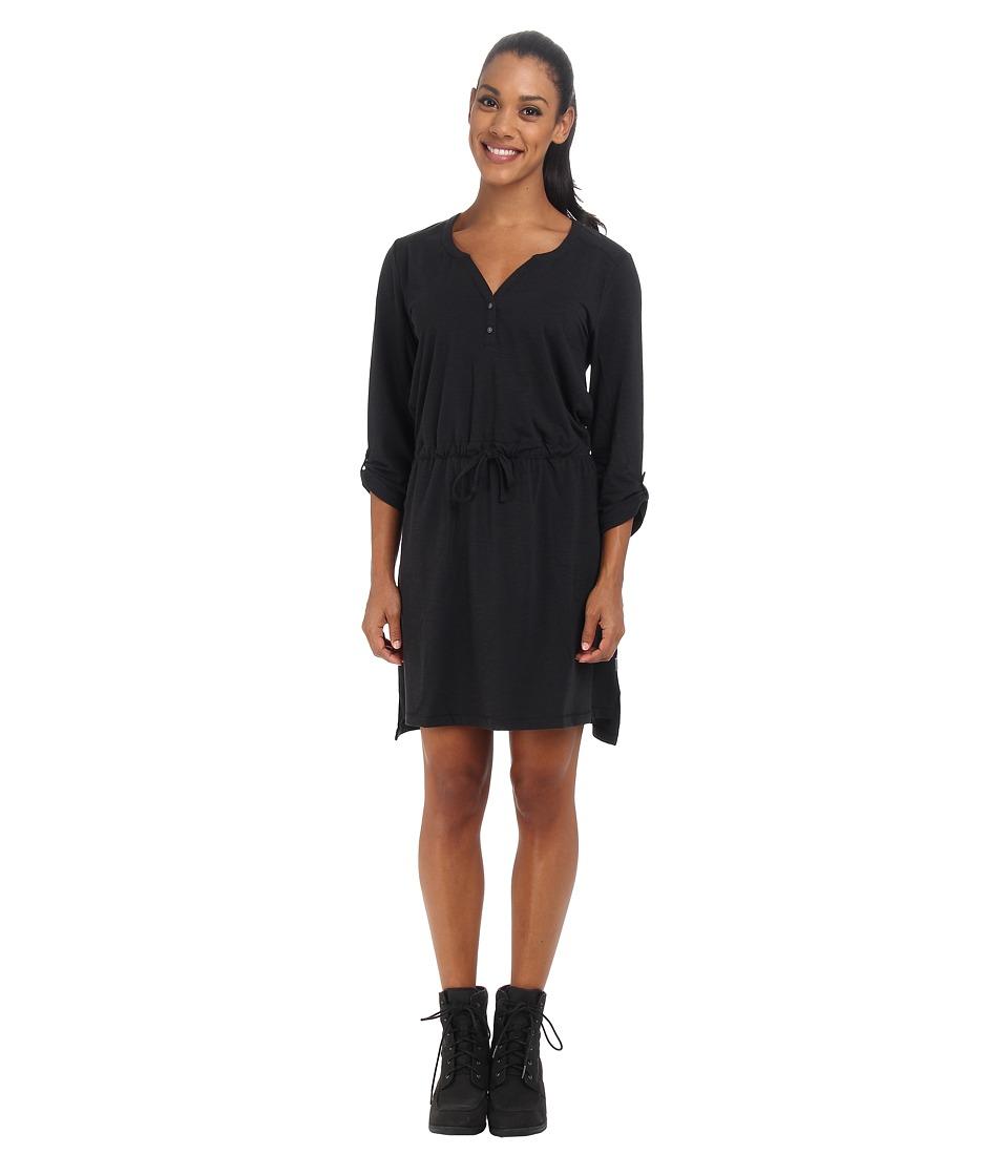 Mountain Hardwear - DrySpun Slub Dress (Black) Women's Dress