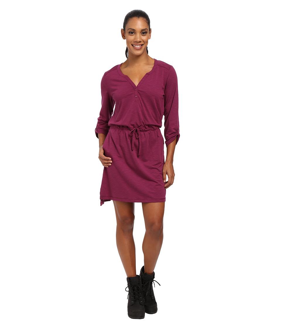 Mountain Hardwear - DrySpun Slub Dress (Dark Raspberry) Women's Dress