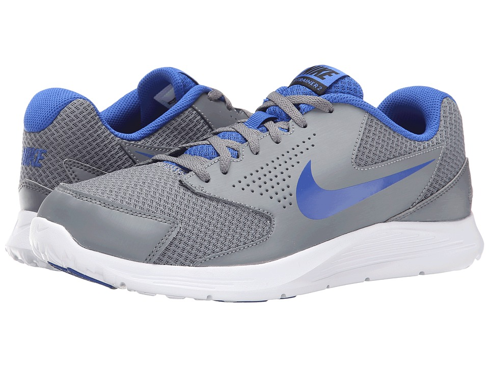 Nike - CP Trainer 2 (Cool Grey/White/Black/Game Royal) Men's Shoes