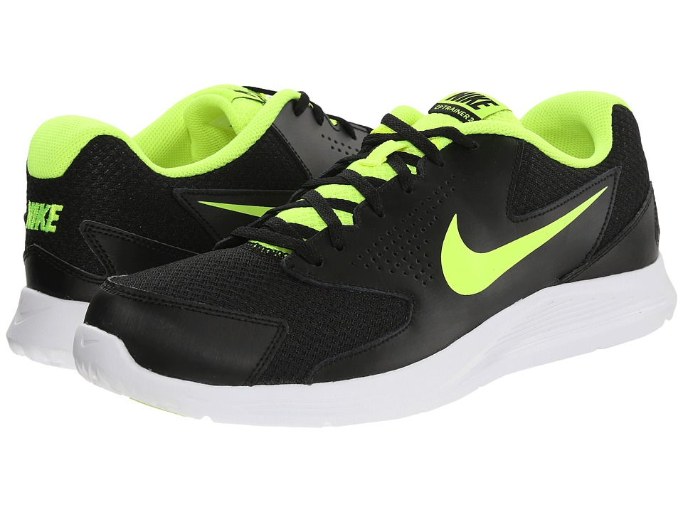 Nike - CP Trainer 2 (Black/White/Volt) Men's Shoes