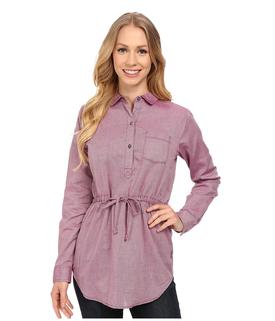 Mountain Hardwear Heralake Long Sleeve Tunic (Dark Raspberry) Women