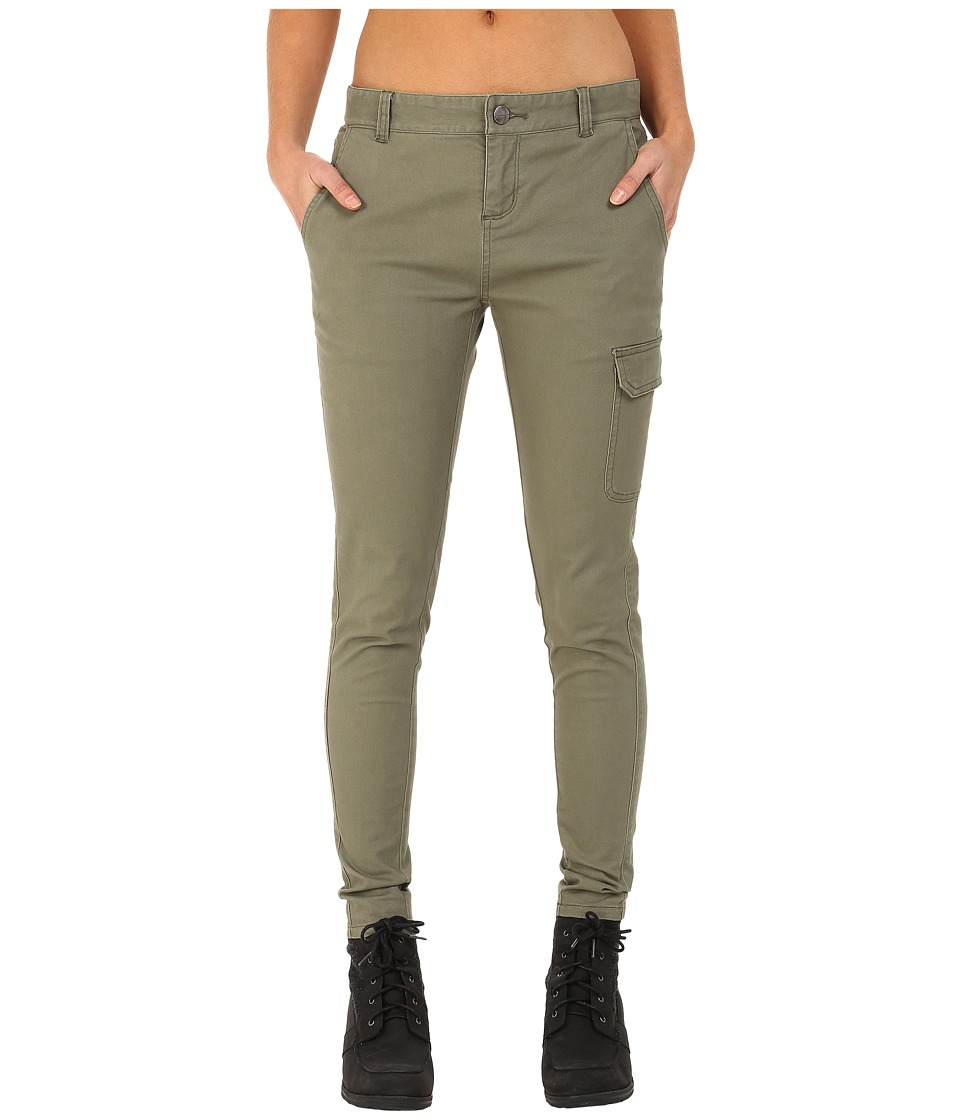 Mountain Hardwear Sojourner Twill Cargo Pants (Stone Green) Women