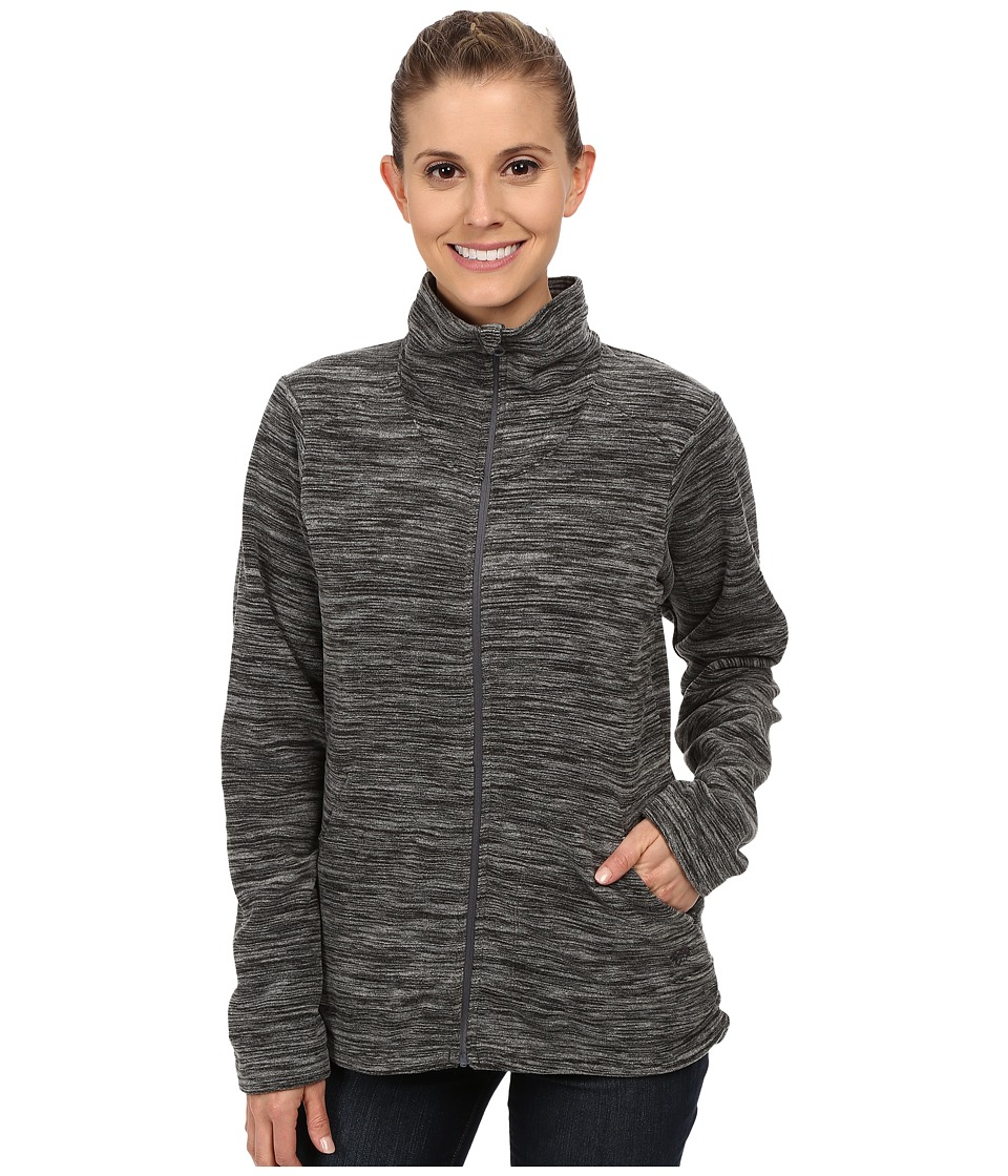 Mountain Hardwear - Snowpasstm Full Zip Fleece (Heather Black) Women's Fleece
