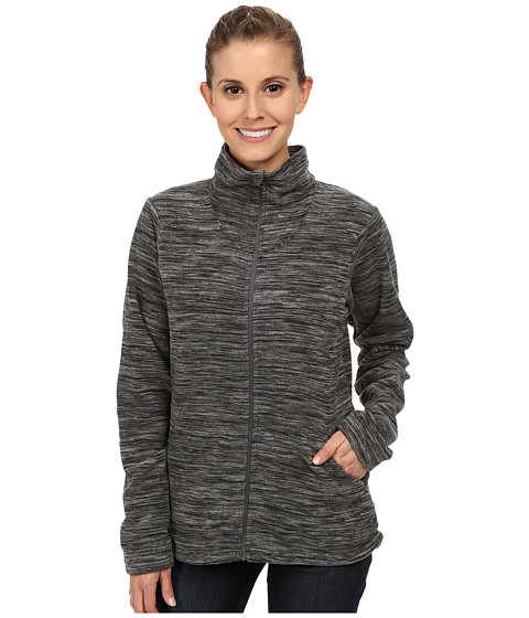 Mountain Hardwear - Snowpass Full Zip Fleece (Heather Black) Women's Fleece