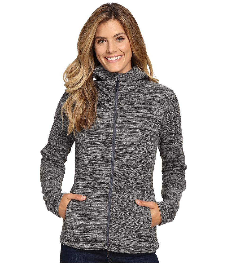 Mountain Hardwear - Snowpass Fleece Full Zip Hoodie (Heather Black) Women's Sweatshirt