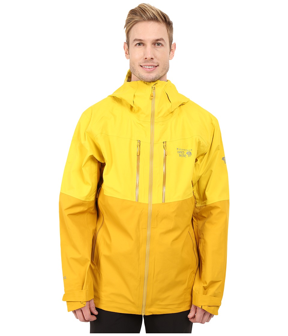Mountain Hardwear - Hellgate Jacket (Electron Yellow) Men's Coat