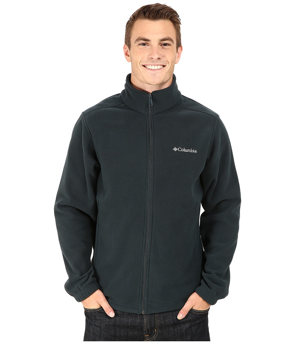 Columbia - Crater Peak II Full Zip Fleece (Night Shadow Heather) Men