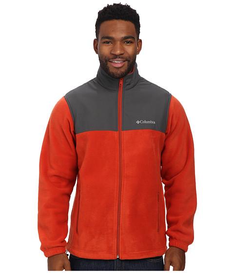 Columbia - Steens Mountain Tech II Fleece (Flame/Grill) Men's Fleece
