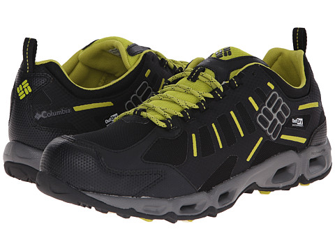 Columbia - Ventfreak Outdry (Black/Ginkgo) Men's Shoes