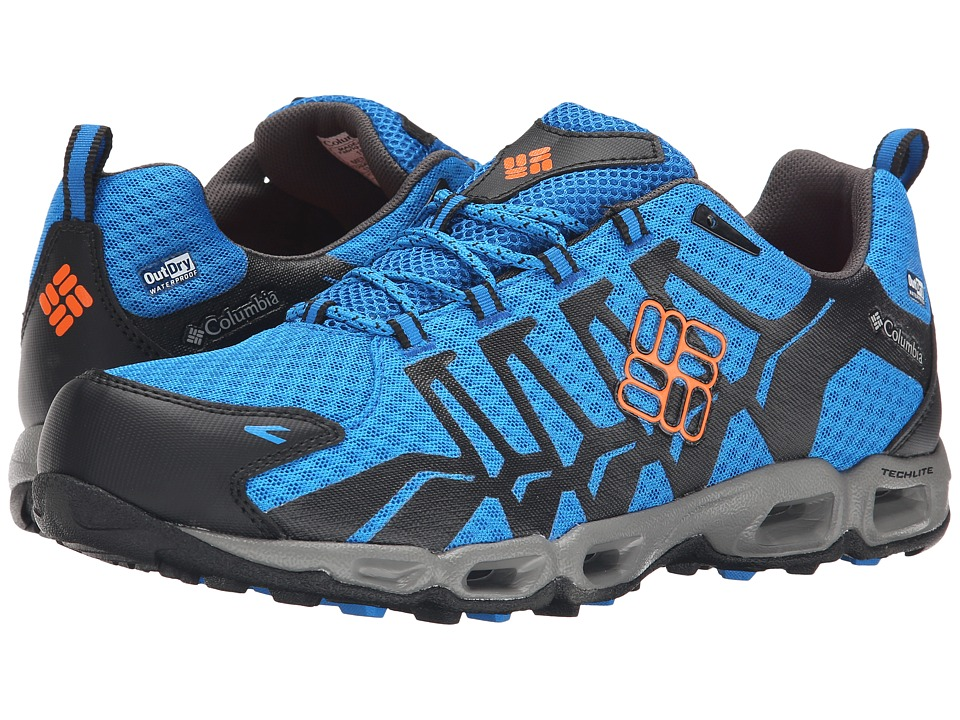 Columbia - Ventrailia Outdry (Hyper Blue/Heat Wave) Men's Shoes