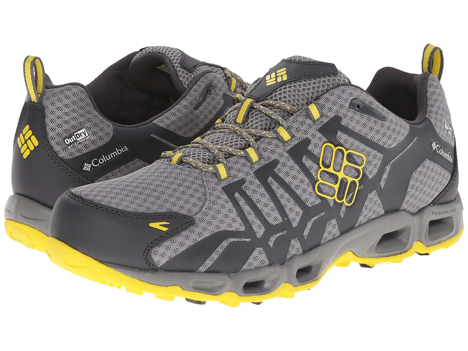 Columbia - Ventrailia Outdry (Light Grey/Laser Lemon) Men