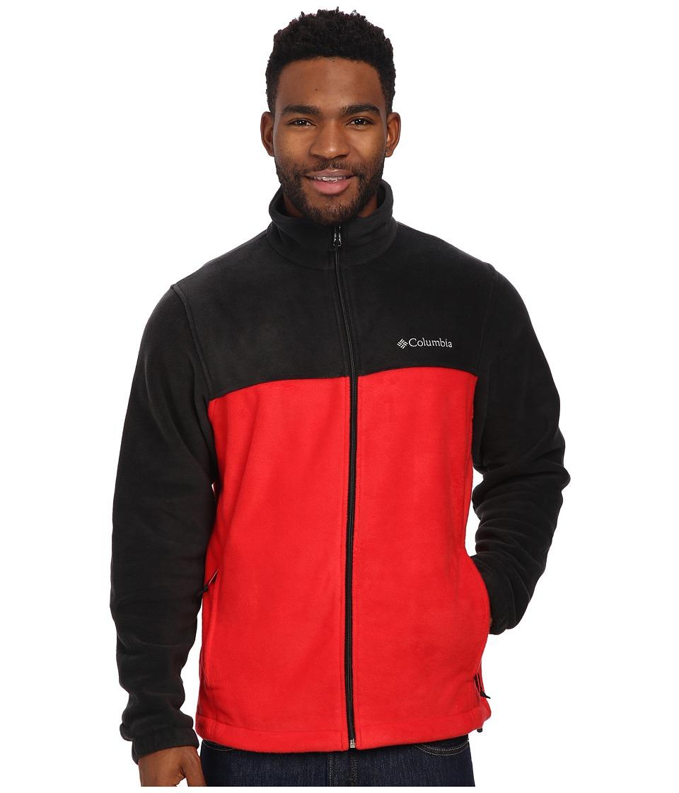 Columbia Steens Mountain Full Zip 2.0 (Black/Bright Red) Men