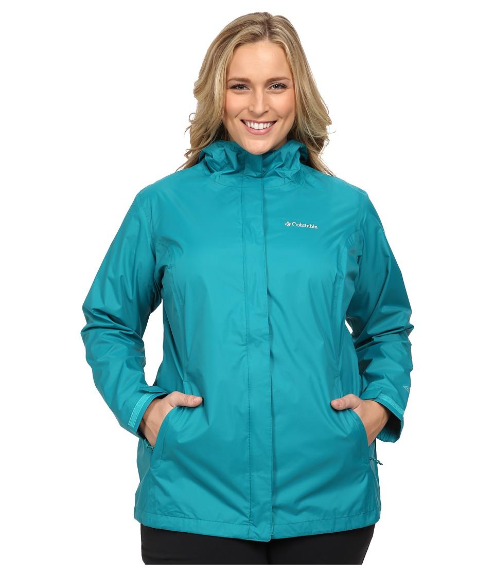 Columbia - Plus Size Arcadia II Jacket (Emerald) Women