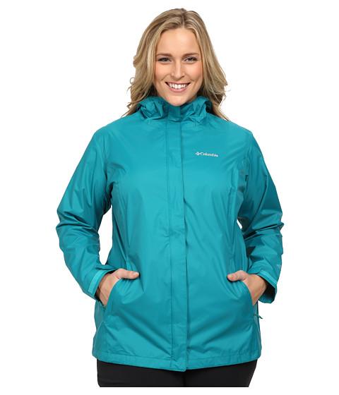 Columbia - Plus Size Arcadia II Jacket (Emerald) Women's Coat