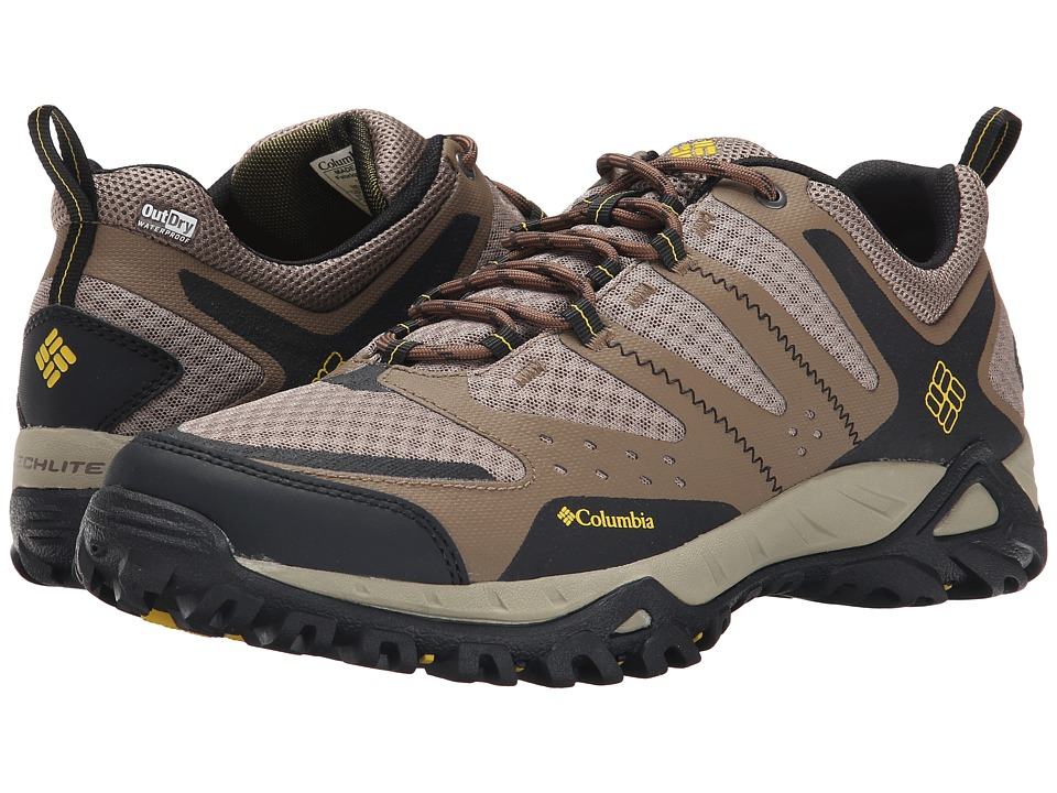 Columbia - Peakfreak XCRSN Xcel Outdry (Truffle/Antique Moss) Men's Shoes