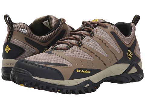 Columbia - Peakfreak XCRSN Xcel Outdry (Truffle/Antique Moss) Men's Shoes