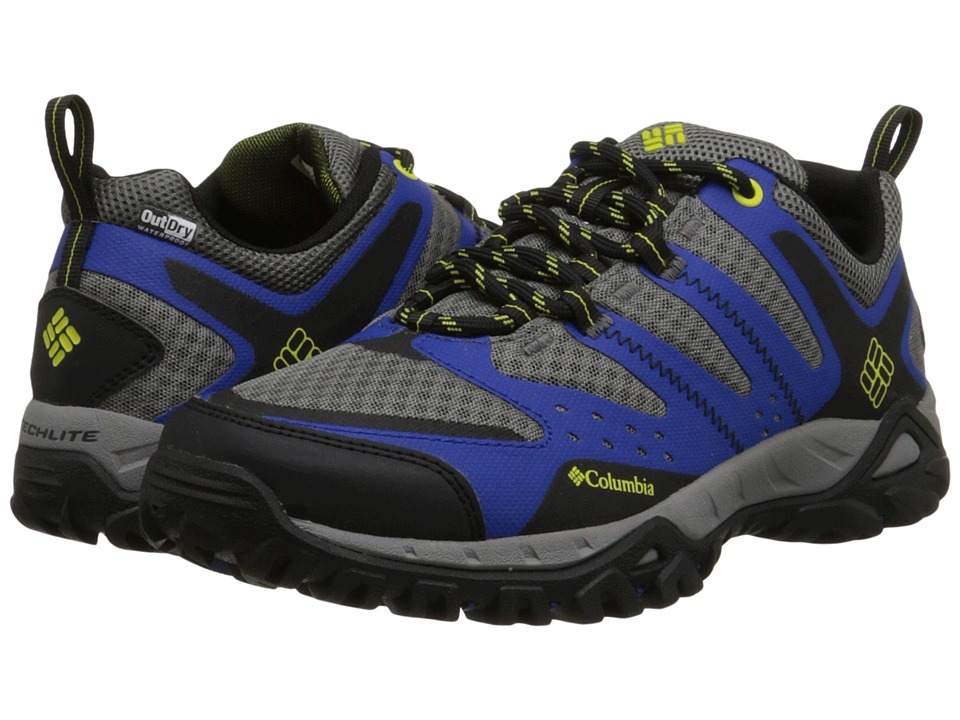 Columbia - Peakfreak XCRSN XCEL Outdry (Azul/Ginkgo) Men's Shoes
