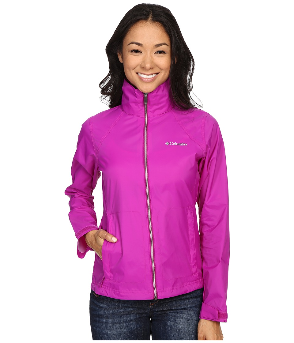 Columbia - Switchback II Jacket (Bright Plum) Women's Coat