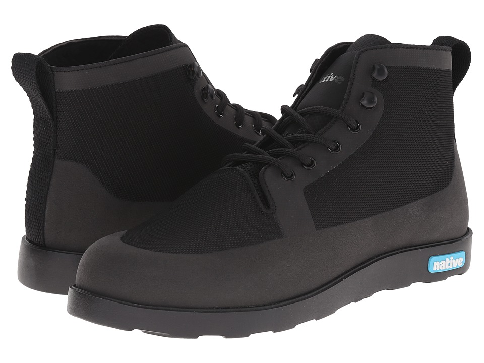 Native Shoes Fitzroy (Jiffy Black/Jiffy Black) Lace-up Boots