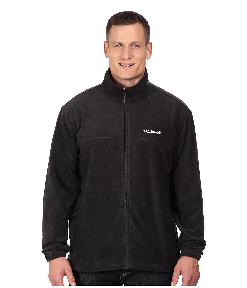 Columbia - Big Tall Steens Mountain Full Zip 2.0 Jacket (Black) Men's Coat