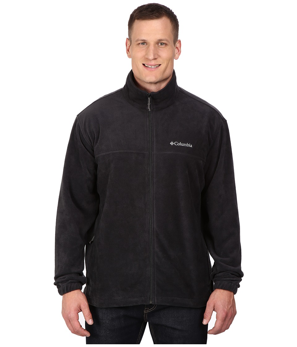 Columbia Big Tall Steens Mountain Full Zip 2.0 Jacket (Black) Men
