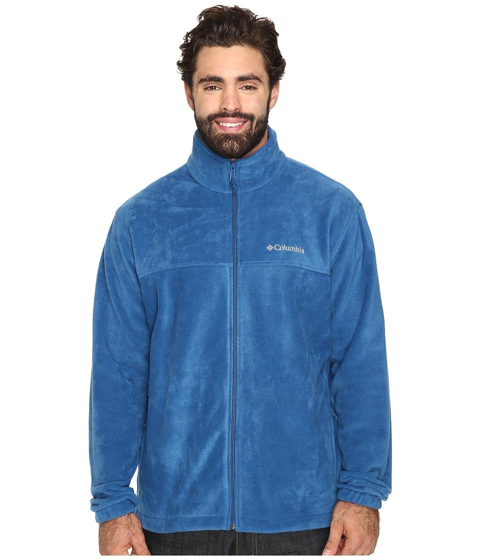 Columbia - Big Tall Steens Mountain Full Zip 2.0 Jacket (Marine Blue) Men's Coat