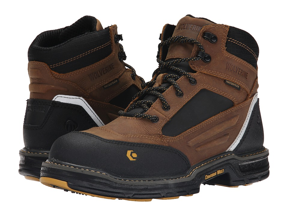 Wolverine - Overman 6 Composite Toe Boot (Wheat/Tan) Men's Work Boots