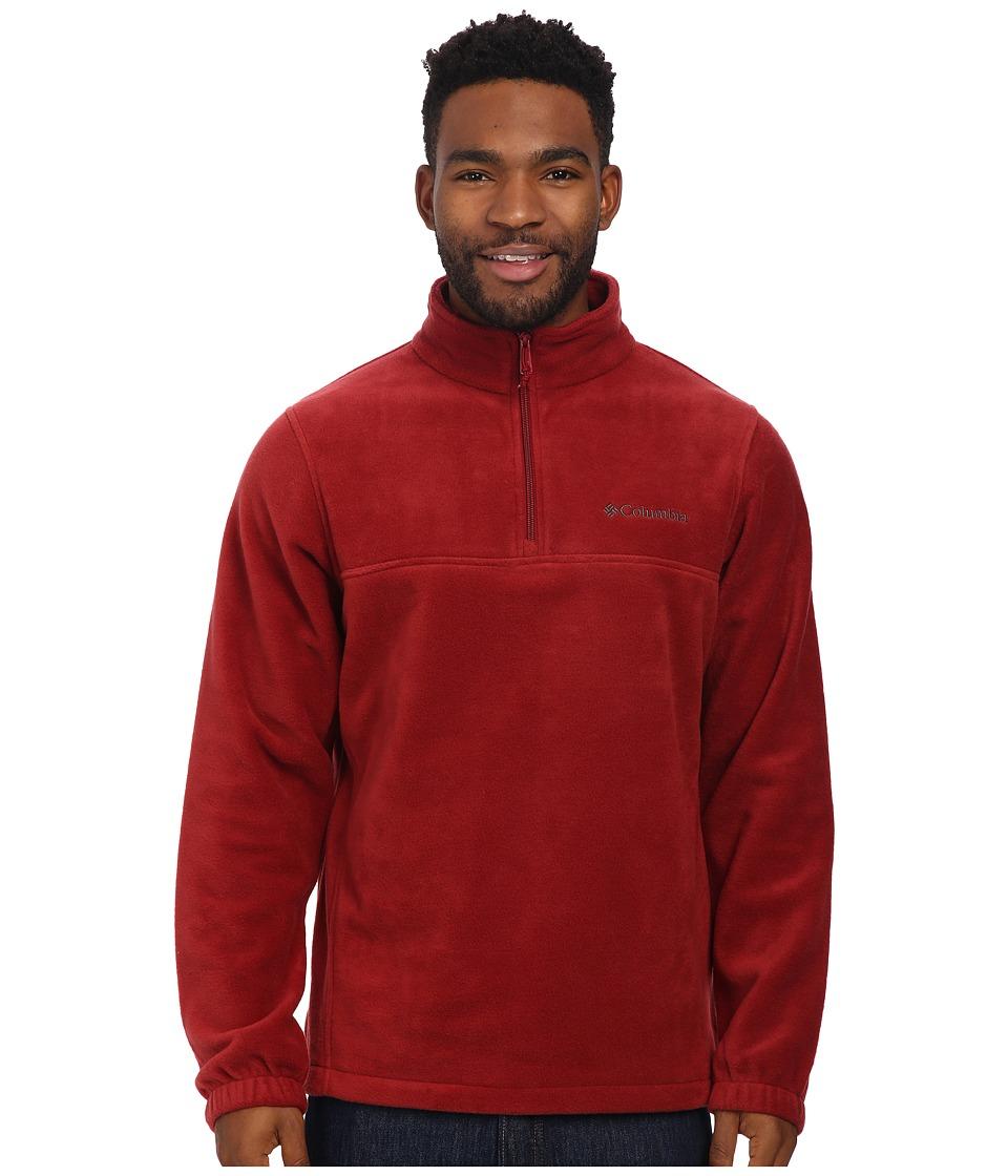 Columbia - Steens Mountaintm Half Zip (Red Element) Men's Coat