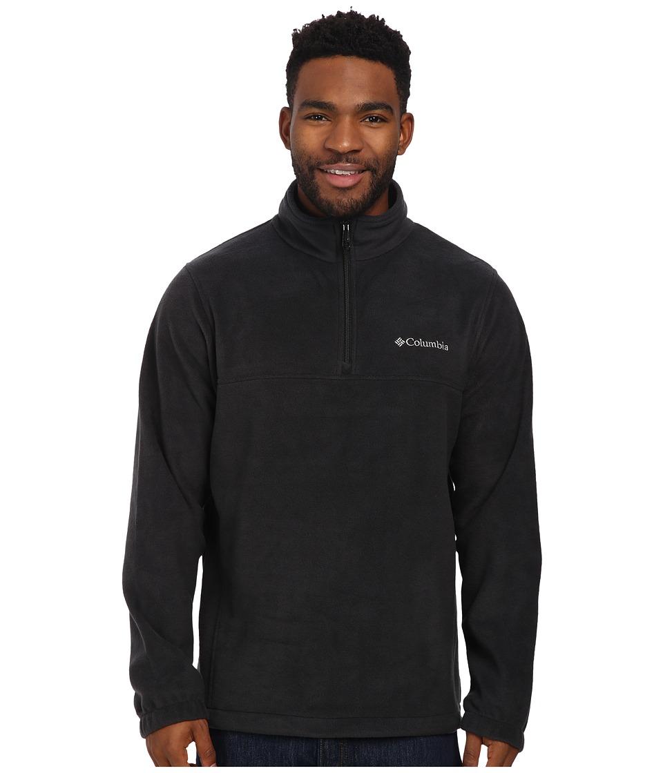 Columbia - Steens Mountain Half Zip (Black) Men's Coat