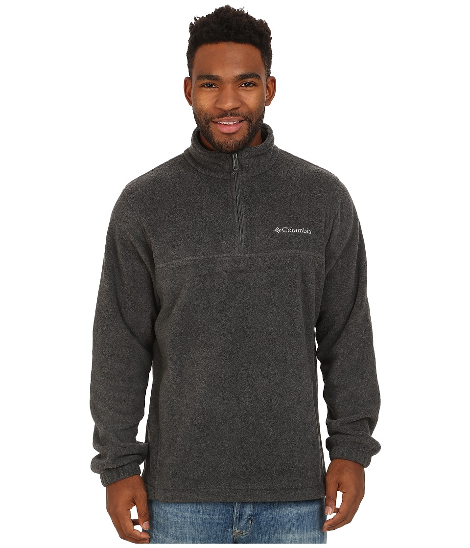 Columbia - Steens Mountain Half Zip (Charcoal Heather) Men's Coat