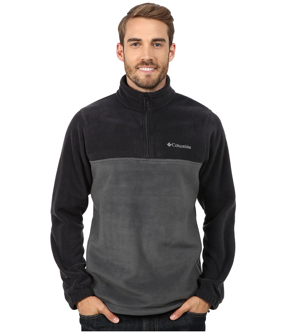 Columbia - Steens Mountain Half Zip (Black/Grill) Men's Coat