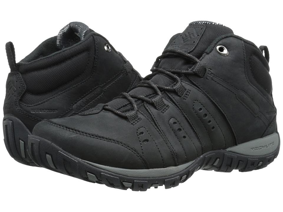 Columbia - Peakfreak Nomad Plus Chukka WP Omni-Heat (Black/Madder Brown) Men's Hiking Boots