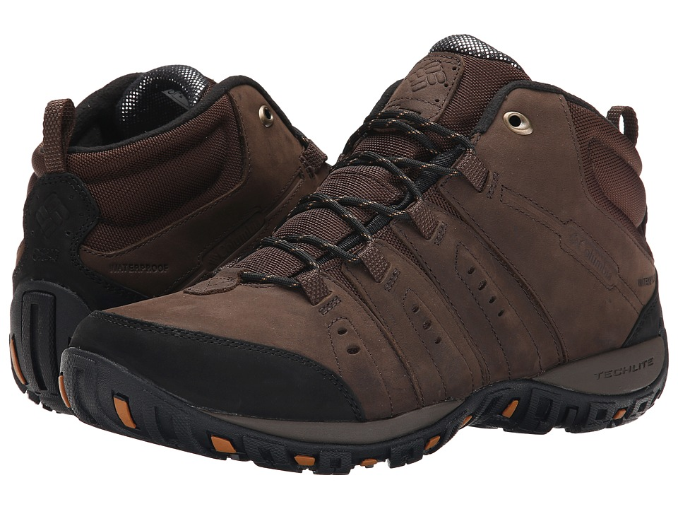 Columbia - Peakfreak Nomad Plus Chukka WP Omni-Heat (Cordovan/Canyon Gold) Men's Hiking Boots