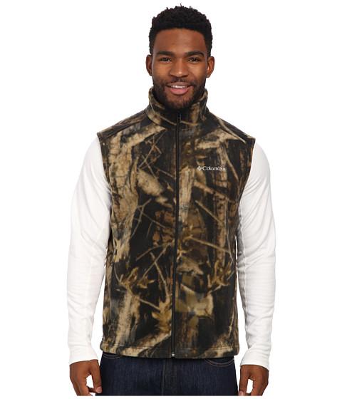 Columbia - Steens Mountain Printed Vest (Timberwolf Print) Men