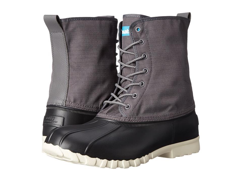 Native Shoes Jimmy (Jiffy Black/Dublin Grey/Bone White) Shoes