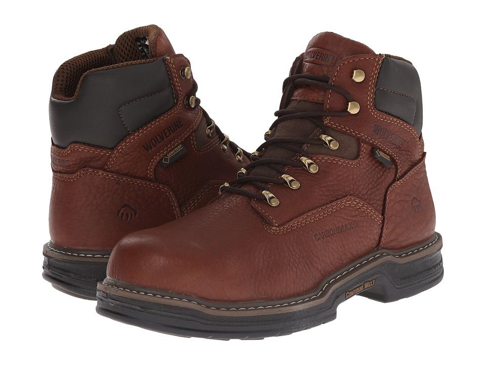 Wolverine - Raider GTX 6 (Contour Welt Cafe) Men's Work Boots