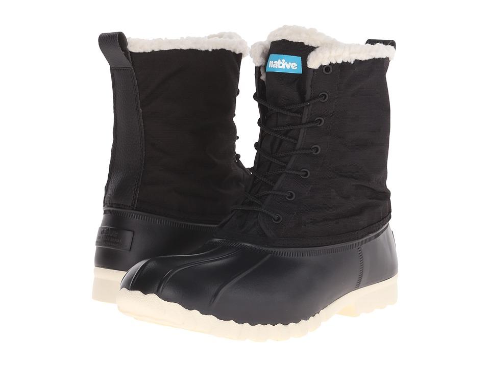 Native Shoes Jimmy Winter (Jiffy Black/Bone White) Shoes