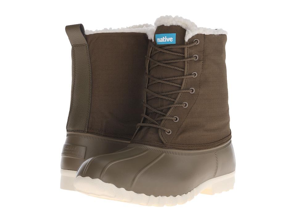 Native Shoes Jimmy Winter (Utili Green/Bone White) Shoes