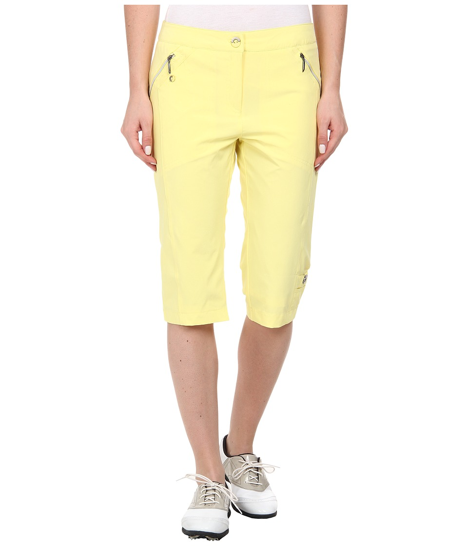 Jamie Sadock - Airwear Light Weight 24 in. Knee Capri (Buttercup) Women's Capri