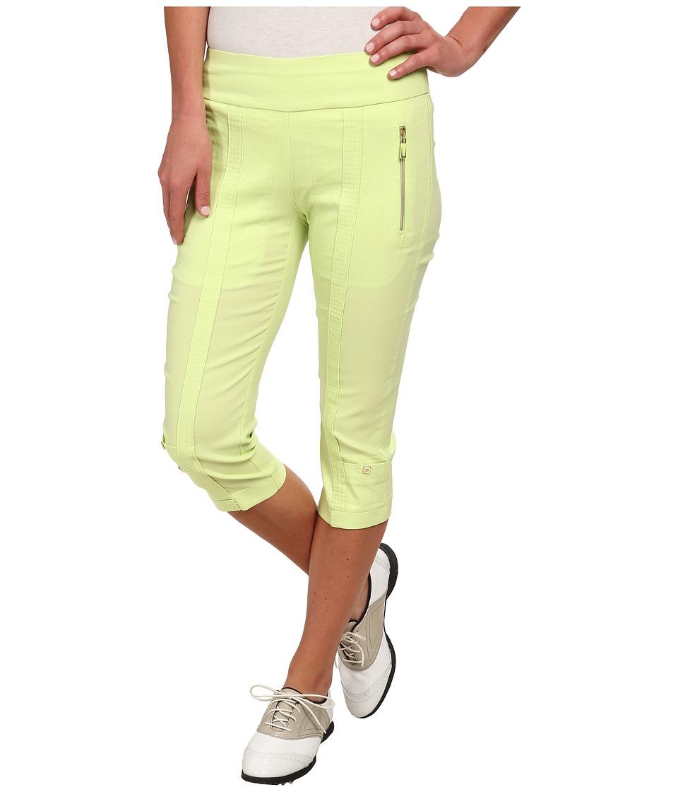 Jamie Sadock - Skinnylicious 28.5 in. Pedal Pusher (Pistachio) Women's Capri