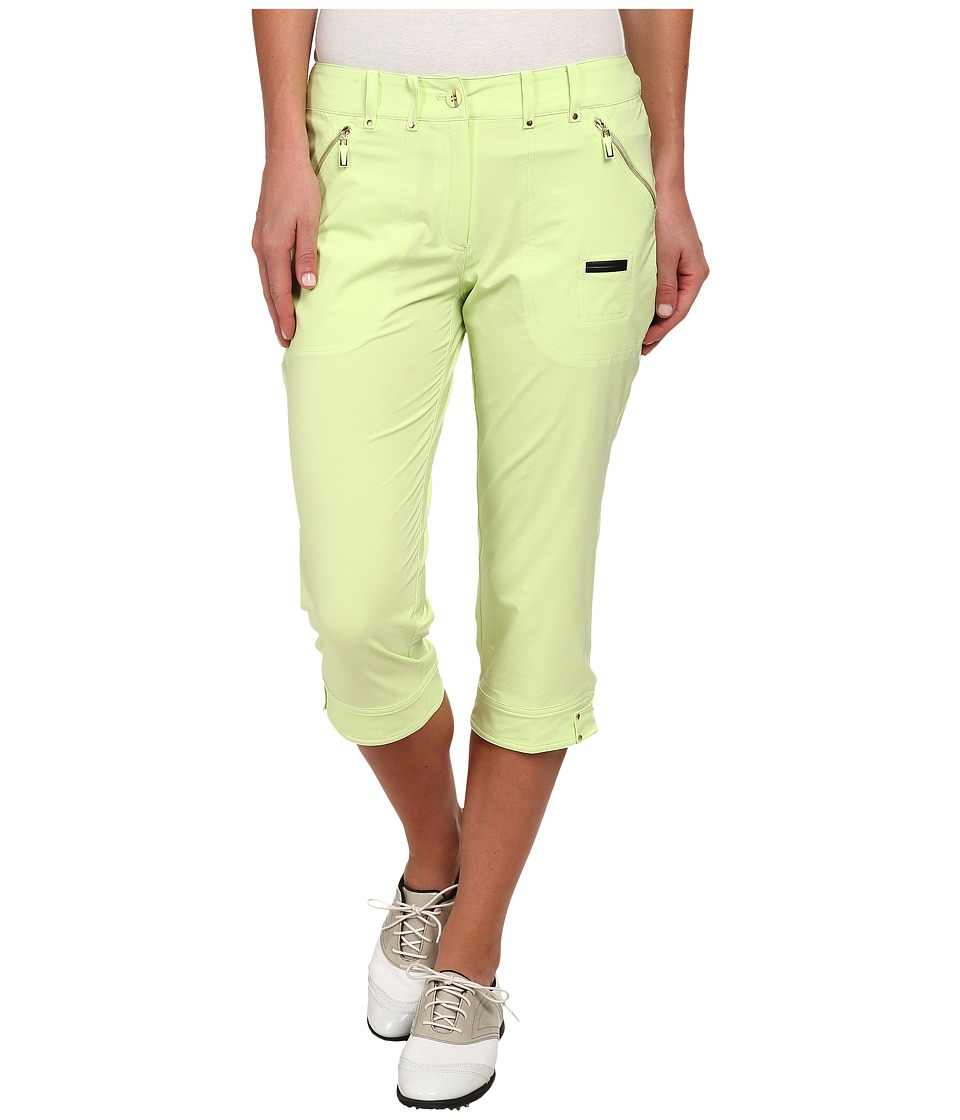 Jamie Sadock - Airwear Light Weight 28.5 in. Pedal Pusher (Pistachio) Women