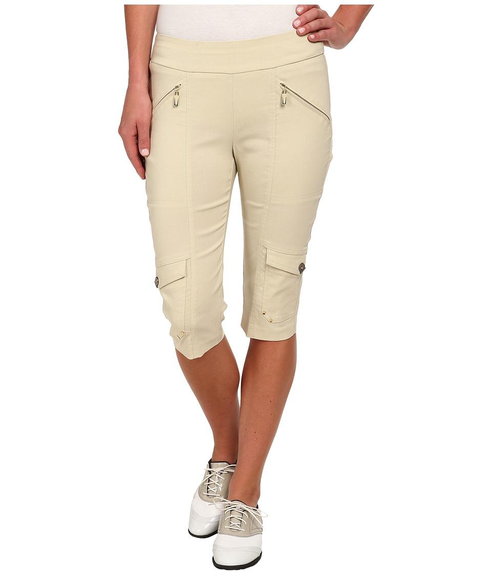 Jamie Sadock - Skinnylicious 24 in. Knee Capri (Shitaki) Women's Capri