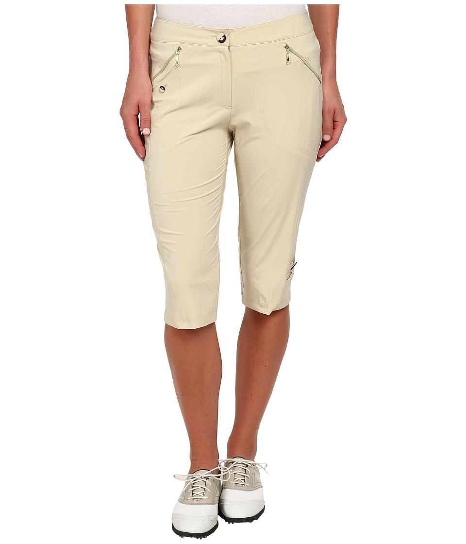 Jamie Sadock - Airwear Light Weight 24 in. Knee Capri (Shitaki) Women's Capri