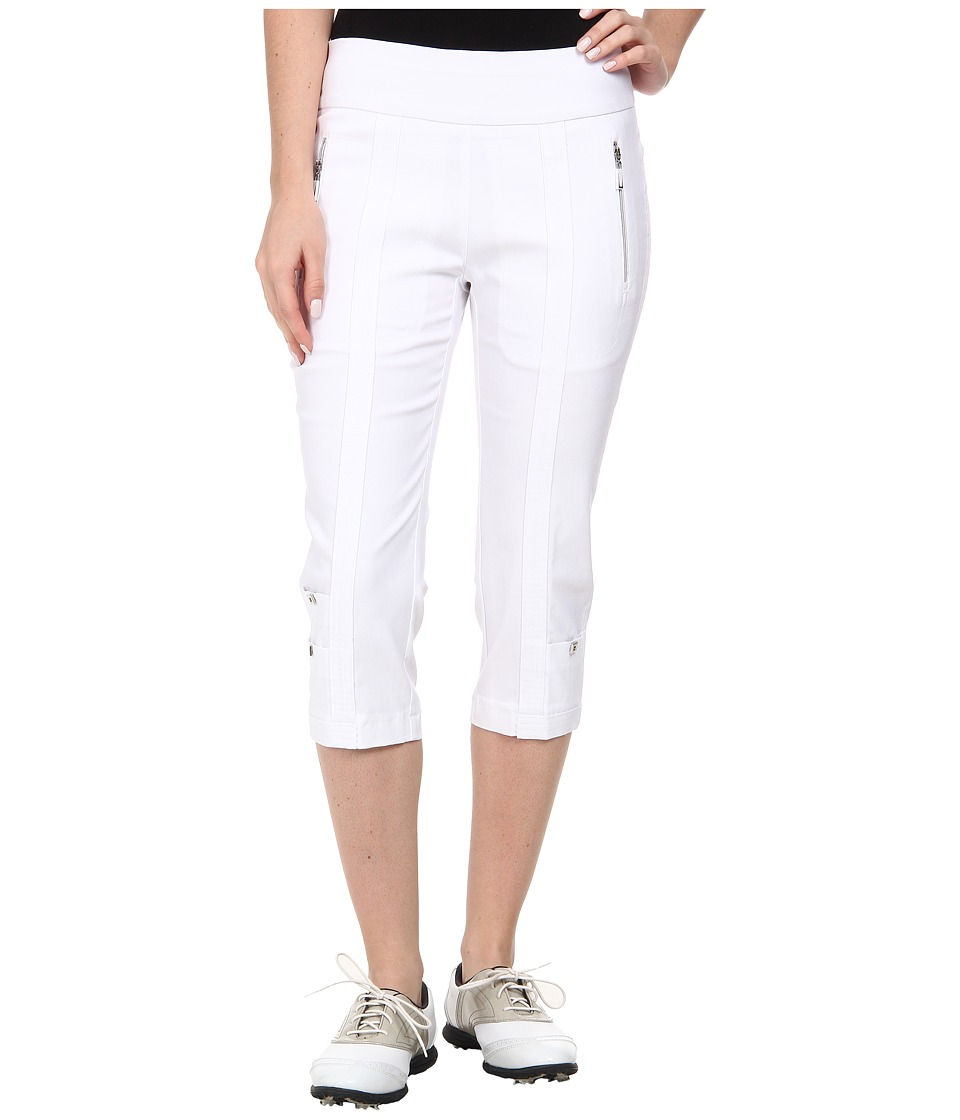 Jamie Sadock - Skinnylicious 28.5 in. Pedal Pusher (Sugar White) Women