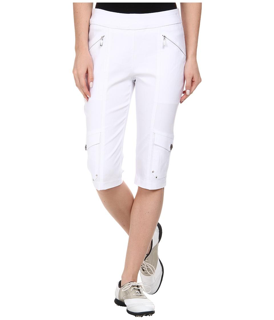 Jamie Sadock - Skinnylicious 24 in. Knee Capri (Sugar White 1) Women's Capri